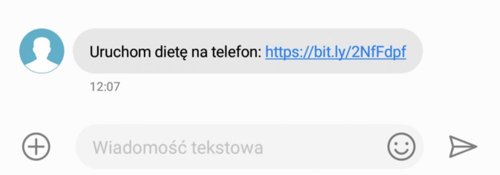 Aktywacja konta sms